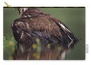 Bald Eagle Juvenile British Columbia Carry-all Pouch