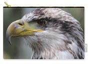 Bald Eagle - Juvenile - Profile Carry-all Pouch