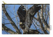 Bald Eagle Juvenile Take Off Carry-all Pouch