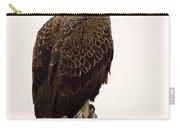 Bald Eagle On A Snag Carry-all Pouch