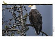 Bald Eagle On Watch Carry-all Pouch