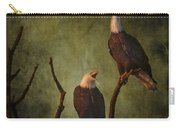 Bald Eagle Serenade Carry-all Pouch