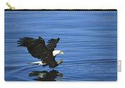 Bald Eagle Striking Kenai Peninsula Carry-all Pouch