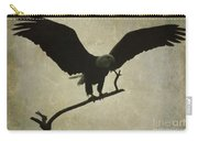 Bald Eagle Texture Carry-all Pouch