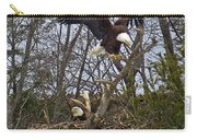Bald Eagles At Nest Carry-all Pouch