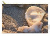 Bald Head Island Shells Carry-all Pouch