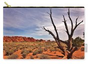 Bald Tree At Arches  Carry-all Pouch