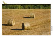 Bales In The Golden Hour Carry-all Pouch
