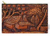 Bali Wood Carving Carry-all Pouch