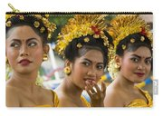 Balinese Dancers Carry-all Pouch by David Smith