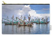 Balinese Fishing Boats Carry-all Pouch