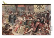 Ball At The Court, Illustration Carry-all Pouch