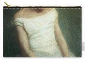 Ballerina Female Dancer Carry-all Pouch by Angelo Morbelli