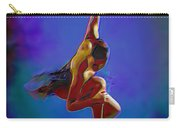 Ballerina On Point Carry-all Pouch