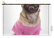 Ballerina Pug Dog Carry-all Pouch