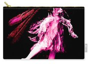 Ballerina Wings Pink Portrait Art Carry-all Pouch