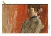 Ballet Dancer With Arms Crossed Carry-all Pouch