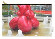 Balloon Flower In The Water Carry-all Pouch