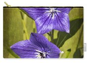 Balloon Flower Carry-all Pouch by Marcia Colelli