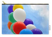 Balloons Against A Cloudy Sky Carry-all Pouch