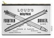 Ballpoint Pen, 1888 Carry-all Pouch