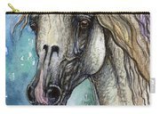 Balon Polish Arabian Horse Portrait 4 Carry-all Pouch