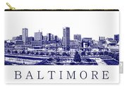 Baltimore Blueprint Carry-all Pouch