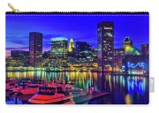 Baltimore Harbor By Night, Baltimore Carry-all Pouch