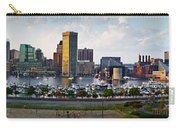 Baltimore Harbor Skyline Panorama Carry-all Pouch