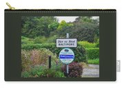 Baltimore Ireland Sign Carry-all Pouch