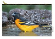 Baltimore Oriole Icterus Galbula Bathing Carry-all Pouch