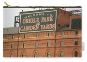 Baltimore Orioles Park At Camden Yards Carry-all Pouch