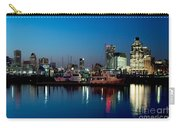 Baltimore Skyline At Dusk Carry-all Pouch