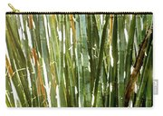 Bamboo Abstract Carry-all Pouch