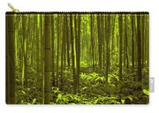 Bamboo Forest Twilight  Carry-all Pouch