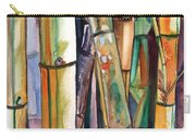 Bamboo Garden Carry-all Pouch by Marionette Taboniar