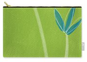 Bamboo Namaste Carry-all Pouch by Linda Woods