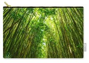 Bamboo Sky - The Magical And Mysterious Bamboo Forest Of Maui. Carry-all Pouch