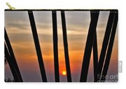 Bamboo Sunset Carry-all Pouch