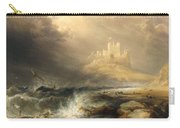Bamborough Castle Carry-all Pouch by William Andrews Nesfield