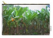 Banana Field Carry-all Pouch