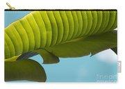 Banana Leaf And Maui Sky Carry-all Pouch