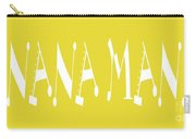 Banana Manna - Yellow - Color - Letter Art Carry-all Pouch