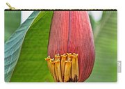 Banana Tree Flower Carry-all Pouch