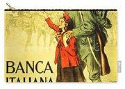Banca Italiana Di Sconto, 1917 Carry-all Pouch