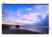 Bandon Beach Painted Sunset Carry-all Pouch