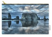 Bandon Beach Sunset Reflections Carry-all Pouch