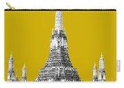 Bangkok Thailand Skyline Wat Arun - Gold Carry-all Pouch