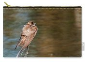 Bank Swallow Resting Carry-all Pouch