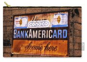 Bankamericard Welcome Here Carry-all Pouch